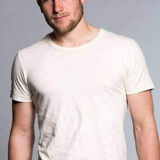 T-shirt z konopi, naturalny